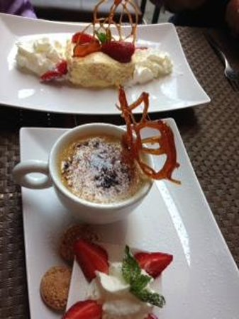 Zest Ristorante & Winebar : amazing desserts