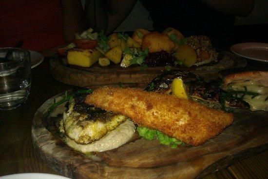 Plateau de légumes & poissons