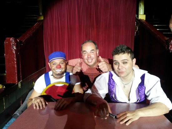 The Blackpool Tower Circus: 3.Mooky the clown, Mr Boo & me