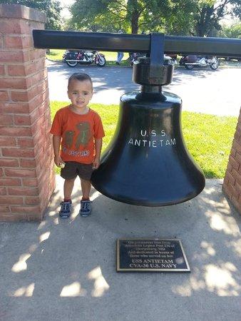 Antietam National Battlefield: The bell