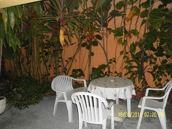 Pousada Portomares: patio interno
