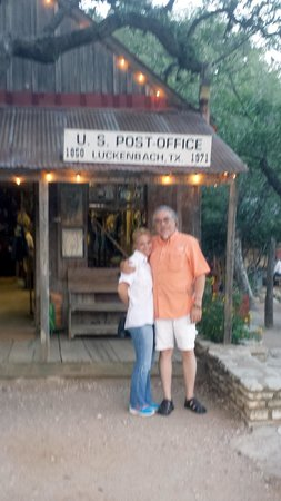 Full Moon Inn: Luckenbach, Texas with my Sweetheart