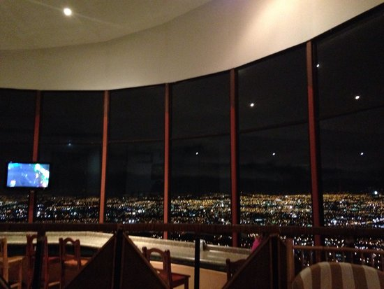Hotel Linda Vista: The views from the office lounge area