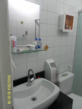 Pousada Portomares: baño