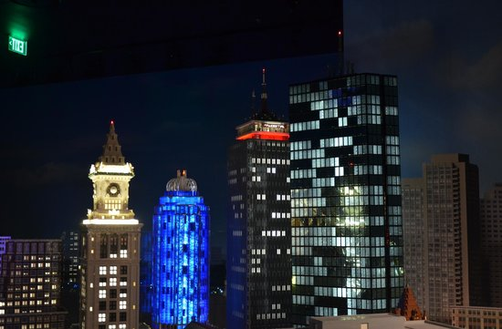 Boston Skyline - Picture of Legoland Discovery Center, Somerville ...