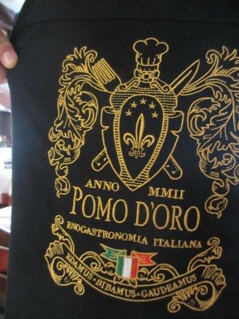 Magnífica comida italiana en el Pomo D'Oro