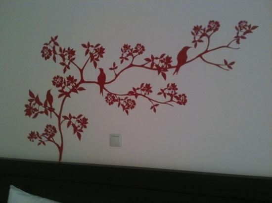 Hotel Malenia: decorazioni alle pareti