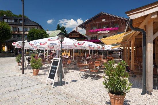 Hotel Königssee: Biergarten