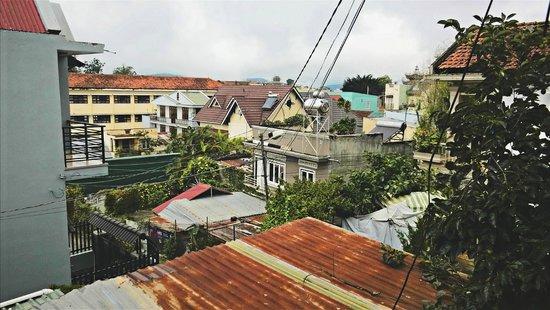 Hobbit Hostel : view from my window