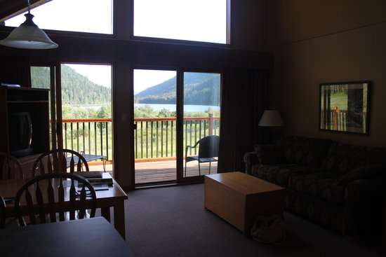 Alpine Meadows Resort: View from the chalet