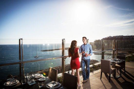 Radisson Blu Resort, Gran Canaria: Vistas desde el Restaurante