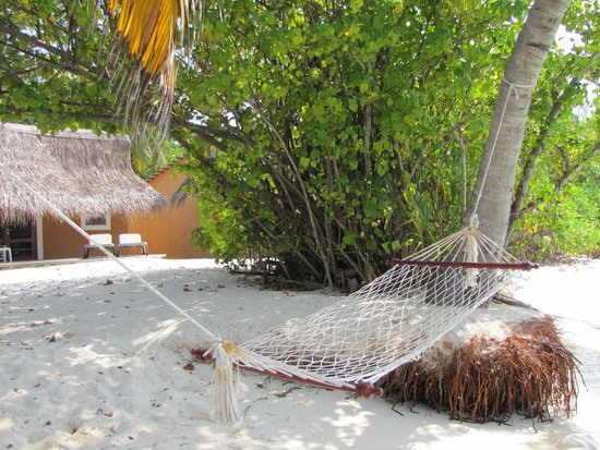 Kuredu Island Resort & Spa: de beachvilla