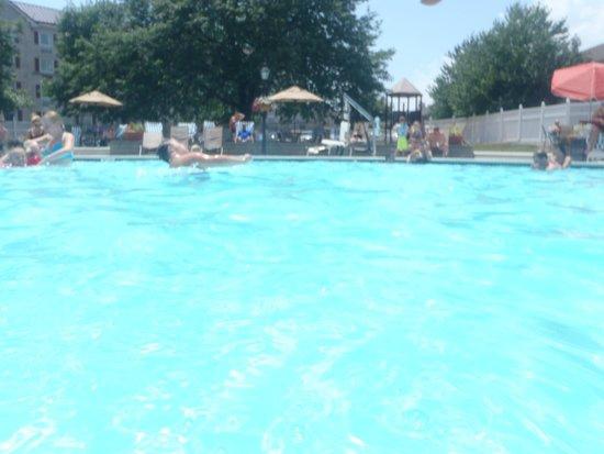 Hershey Lodge : Pool Area