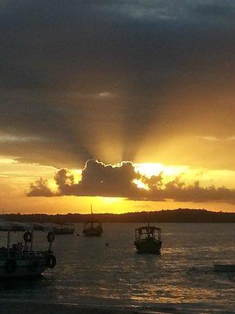 Gamboa Beach: Um por do Sol inesquecivel