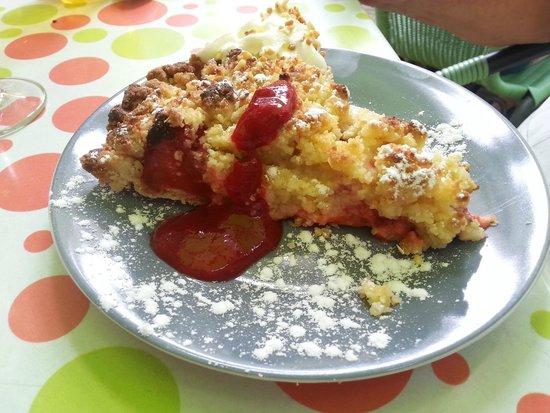 La p'tite parlotte : Crumble aux fraises