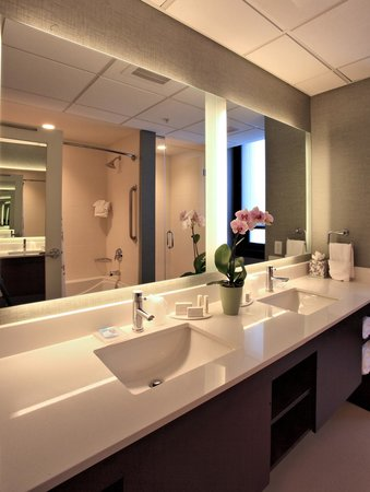 Residence Inn Omaha Downtown/Old Market Area: Penthouse Suite, Bathroom
