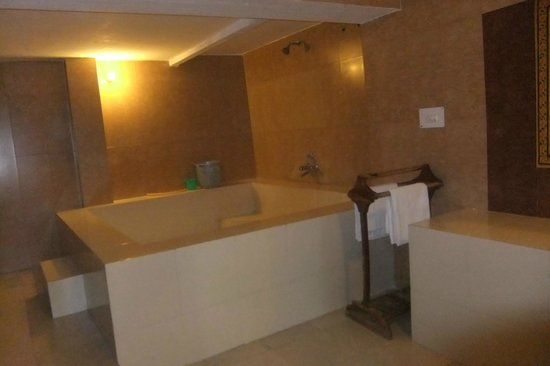 Krishna Prakash Heritage Haveli: bathroom