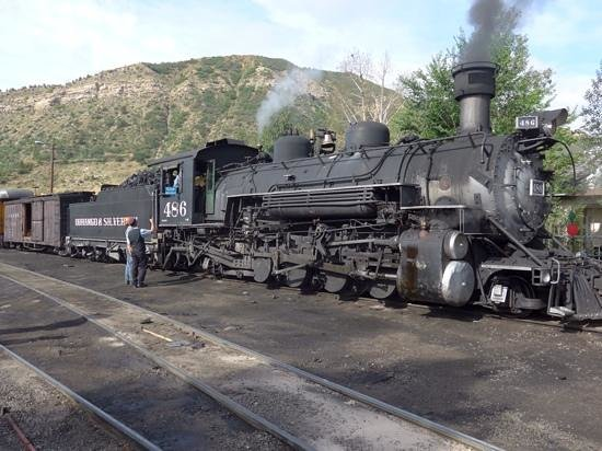 Durango and Silverton Narrow Gauge Railroad and Museum : Getting ready ...