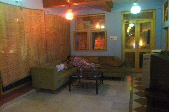 Krishna Prakash Heritage Haveli: drawing room