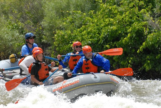 Echo Canyon River Expeditions - Day Trips: Rafting fun!
