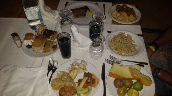 Club Iliade: cibo