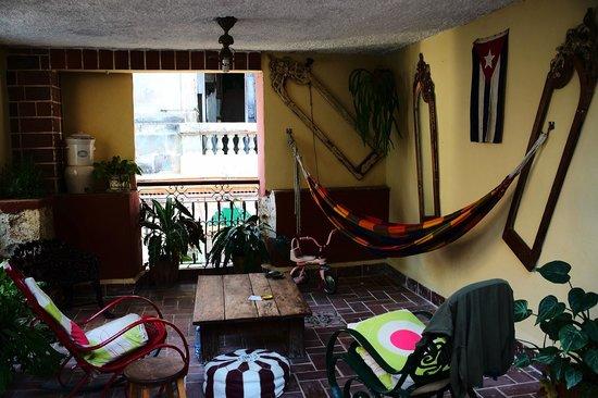 Casa Carlos y Graciela: terraza mágica