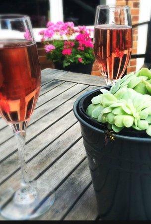 The Miller of Mansfield: Drinks in the courtyard garden?