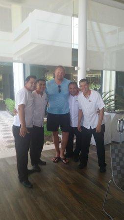 Paradisus Cancun: cinco amigos