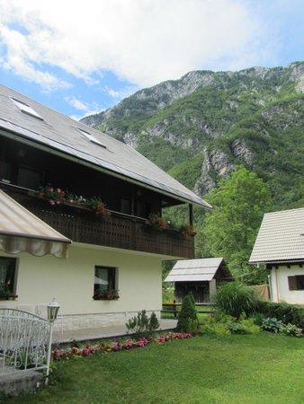 Hotel/Pension Stare at the Bohinj Lake: View of Hotel Stare