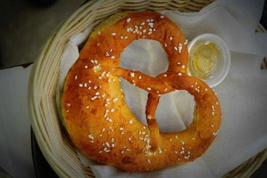 The Deli Korner: homemade Bavarian pretzel