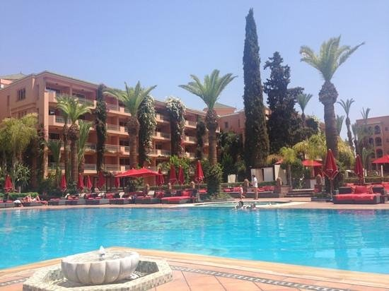Sofitel Marrakech Palais Imperial : the pool