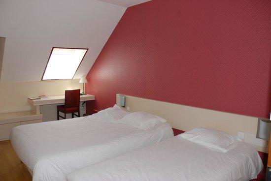 Hotel Au Chene Vert : chambre familiale