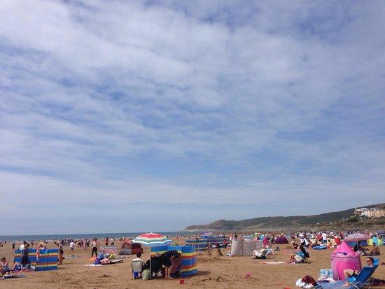 Woolacombe Beach: July 2014