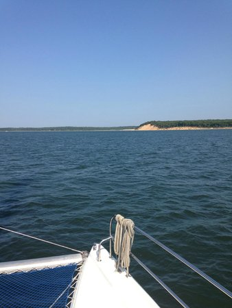 Sag Harbor, NY: sailing to shelter island