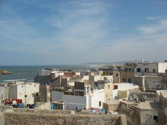 Riad El Mess : вид с крыши Риада
