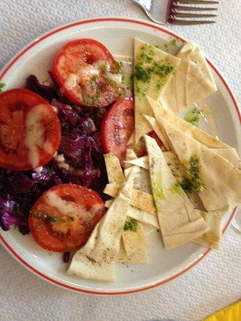 Alounak Restaurant : une entrée à base de choux