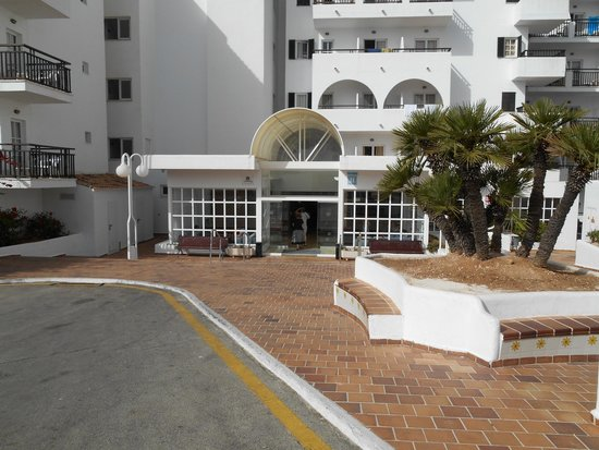 Barcelo Ponent Playa : parte del hotel