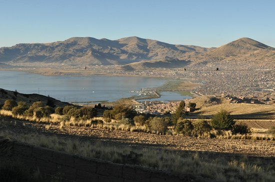 Mirador del Titikaka: View from the hotel - Puno city