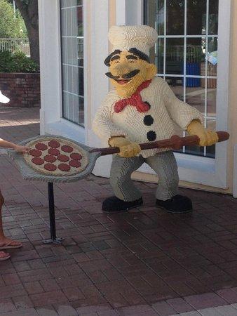 LEGOLAND Florida Resort: lego people everywhere