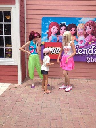 Legoland Florida Resort: character greetings