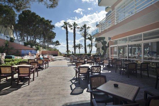 Hotel Best Cap Salou : Bar terraza vista mar Best Cap Salou