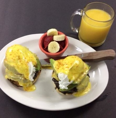 Red Rooster : black bean benny add avacado