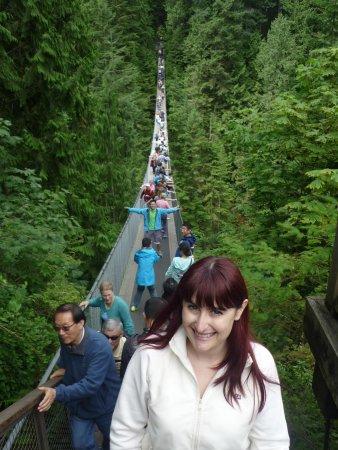 Capilano Suspension Bridge und Park: Swinging Bridge