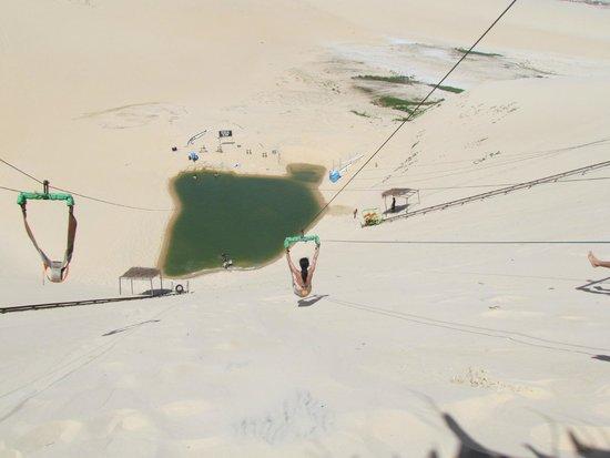 """Ceara Beach : """"lago"""" entre as dunas"""
