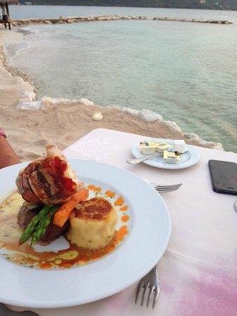 Secrets Wild Orchid Montego Bay: Sunset Dinner - Lobster and Filet