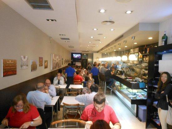 Cafe Santiago : in Café Santiago