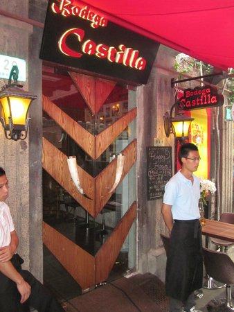 Tian Zi Fang: Restaurante español