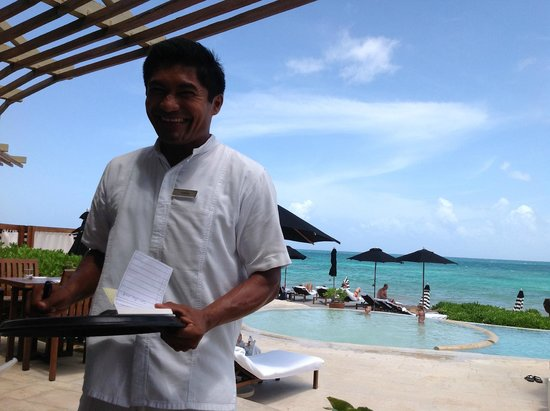 Rosewood Mayakoba: ''The Waiter'' Thank you...
