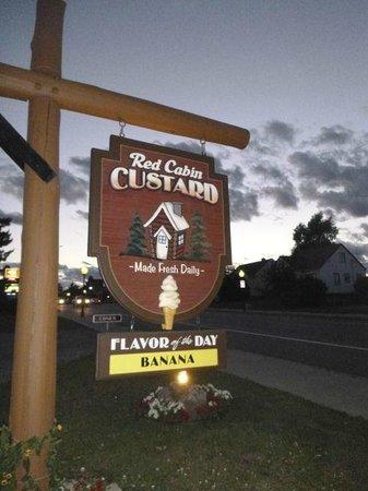 Red Cabin Custard