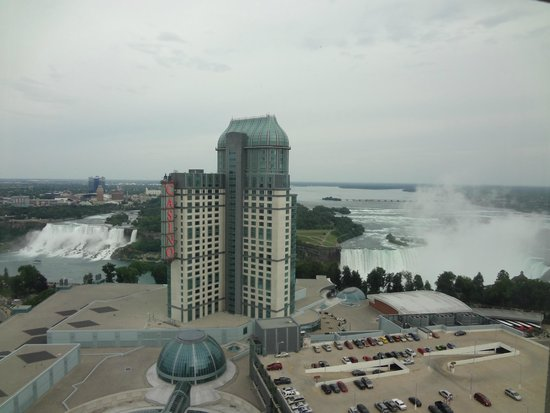 Hilton Niagara Falls/Fallsview Hotel & Suites: View from room